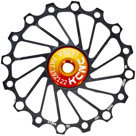 KCNC Jockey Wheel 'SS Bearing Narrow Wide 16 tænder' sort